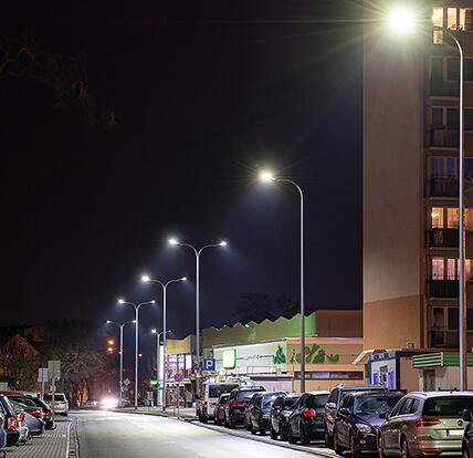 Włocławek - oświetlenie miejskie ulica Żytnia