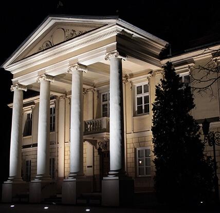 MProjekt Technika Świetlna, Pałac Biskupi, Włocławek